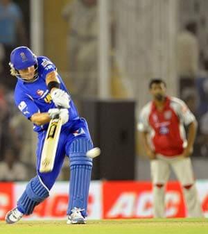 IPL 5: Rajasthan Royals leave Punjab in tatters