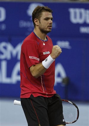 Stanislas Wawrinka wins on ATP World Tour Finals debut
