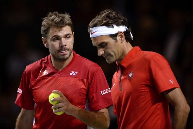 Davis Cup quarters: Roger Federer, Stanislas Wawrinka stunned in doubles vs Kazakhstan