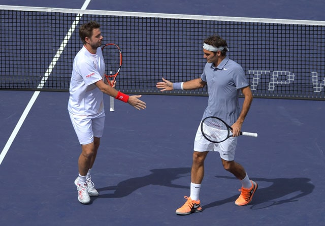 Federer-Wawrinka beat Bopanna-Qureshi in Indian Wells doubles opener