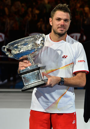 Australian Open: Stanislas Wawrinka steps out of fellow Swiss Roger Federer's shadow