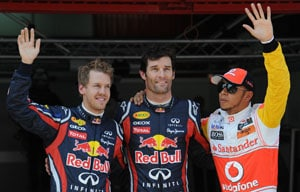 Webber grabs pole for Spanish GP