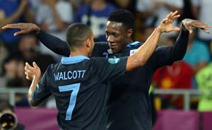 Euro 2012: Walcott joy after Engand rescue act