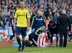 EPL: Sunderland joy as Wes Brown red card overturned