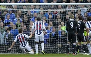 Chelsea stunned by West Bromwich