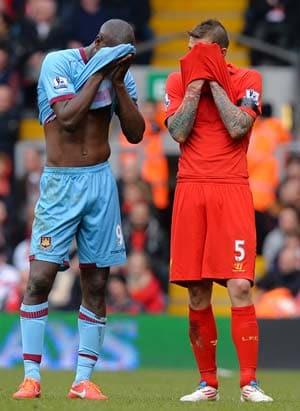 EPL: West Ham thwart misfiring Liverpool