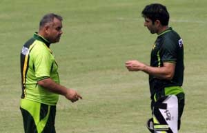 Misbah ul Haq credits Dav Whatmore for the 'positive change' in Pakistan side