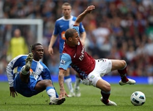 Wigan stay alive with draw at Villa