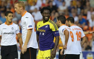UEFA Europa League round-up: Swansea stun Valencia, Tottenham ease to victory