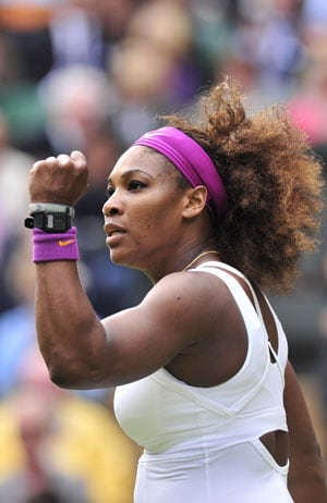 Wimbledon 2012: Serena breaks 100-ace barrier