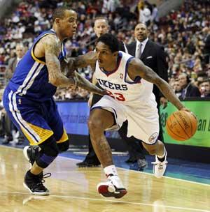Philadelphia 76ers top Golden State Warriors 105-83