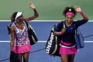 Williams sisters to play exhibition in South Africa