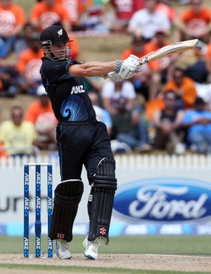 New Zealand take 2-0 lead vs India after win in rain-marred ODI