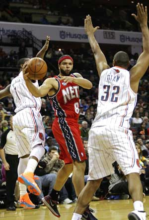 Deron Williams scores Nets-record 57 in win over Bobcats