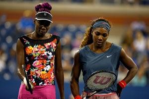 Serena and Venus Williams fall in US Open semi-finals