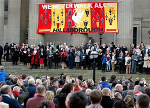FA apologizes for part in Hillsborough disaster