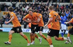 Wolves win 3-1 at relegation rivals Wigan