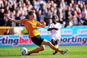 Late Wolves comeback vs Swansea prevents 6th loss