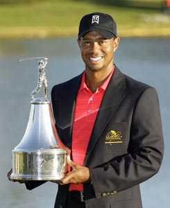 Tiger Woods ends 30-month title drought