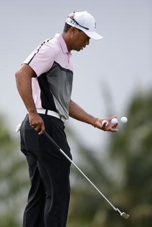 Defending champion Tiger Woods pulls out of Arnold Palmer Invitational due to back pain