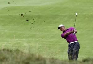 Tiger Woods in the mix at Australian Open