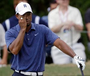Tiger Woods falls out of top 50 in world ranking