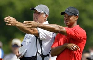More change for Tiger Woods: a new caddie