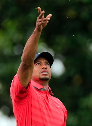 Tiger Woods' march towards No.1 halted by storm in Arnold Palmer