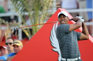 Woods in pole position in Gulf