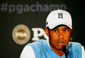 All eyes on Tiger Woods at PGA Championship