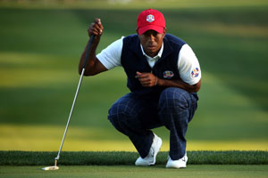 Ryder Cup: Woods back with Stricker against Garcia and Donald