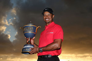 Tiger Woods claims WGC-Cadillac Championship