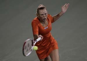 Wozniacki crashes out of Dubai Open