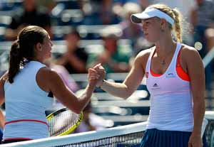 Wozniacki dumped out in Canada