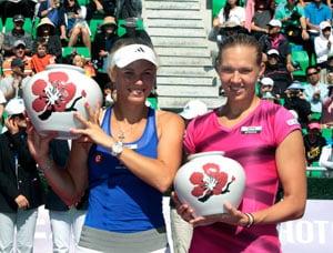 Caroline Wozniacki wins KDB Korea Open