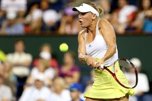 Caroline Wozniacki reaches Indian Wells final