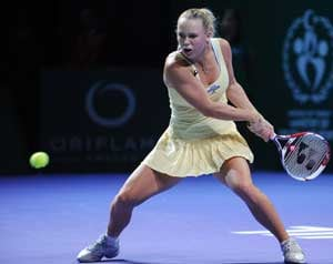 Wozniacki crashes out of WTA Championships