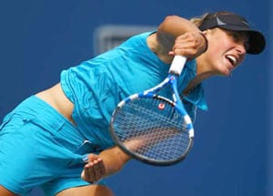 Top-seeded Wickmayer advances at Hobart