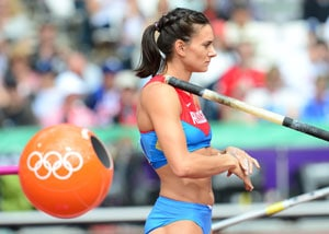 Yelena Isinbayeva slammed for 'anti-gay' comments