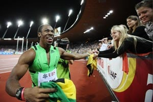 Yohan Blake storms to second-fastest 200m in history