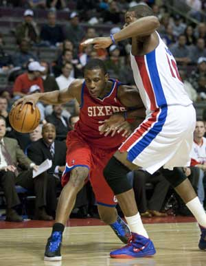 76ers beat Pistons 97-68, ending 5-game skid