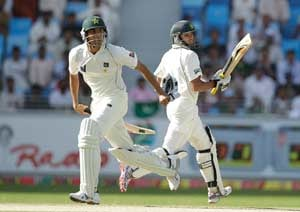 Younis and Azhar power Pakistan against England