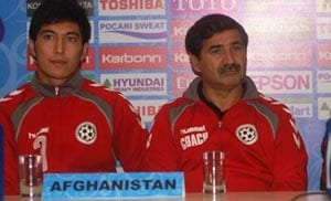 Afghan coach accuses referee of bias towards India