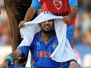 Wishes and prayers for Yuvraj's recovery