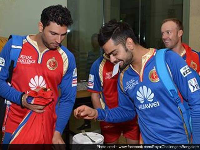 Chocolate Cake, Gangnam Welcome Yuvraj Singh's Return to Form for Royal Challengers Bangalore