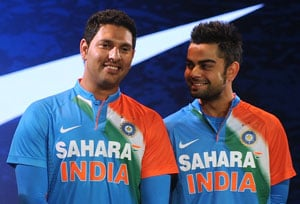 Yuvraj Singh wishes Kohli on his birthday