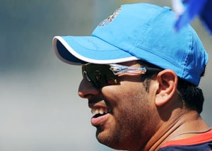 Yuvraj Singh launches his dream cricket academy