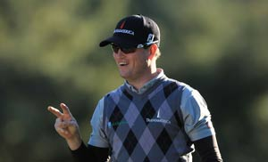 Johnson seizes World Challenge lead from Woods