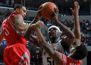 Grizzlies beat Rockets 113-93 for first win