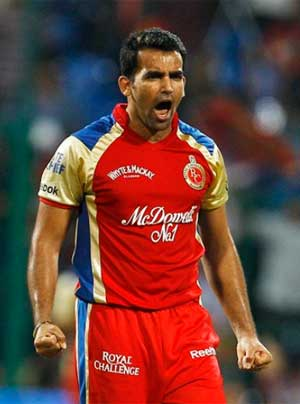 Zaheer Khan skips Royal Challengers Bangalore training camp